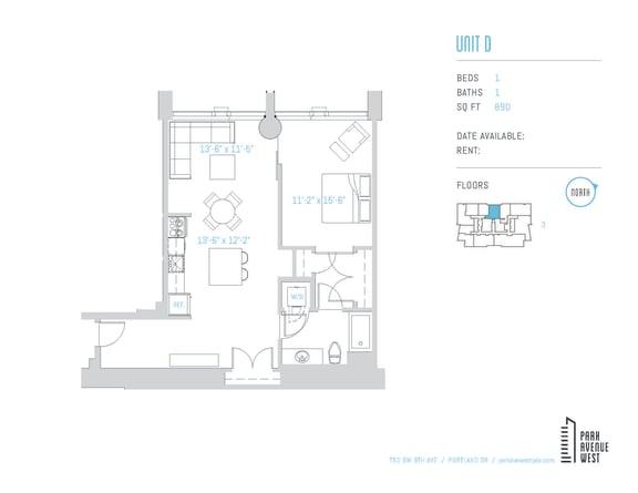 Floor Plan  Unit D