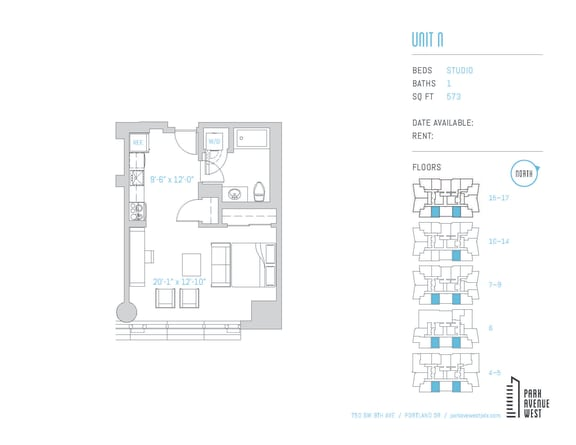 Floor Plan  Unit N