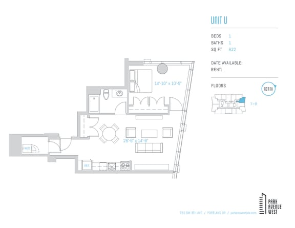 Floor Plan  Unit U
