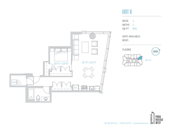 Floor Plan  Unit X