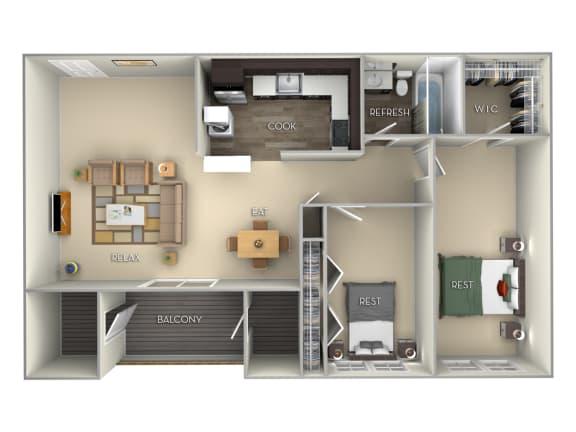 Glenbrook Middletown Valley 2 bedroom 1 bath furnished