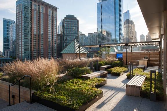 Lofts at River East - Sky Deck