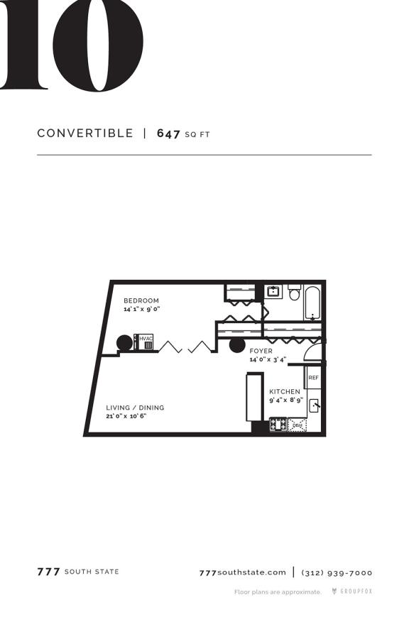 777 South State - Floorplan 10