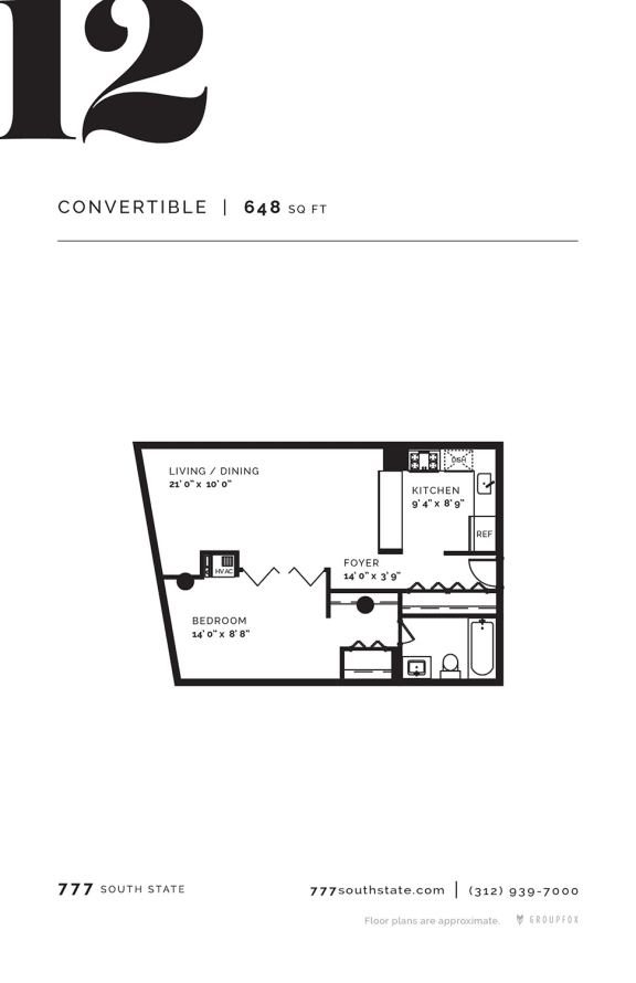 777 South State - Floorplan 12