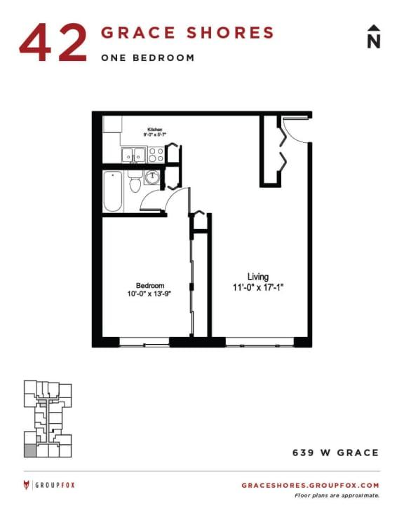 Grace Shores - One Bedroom