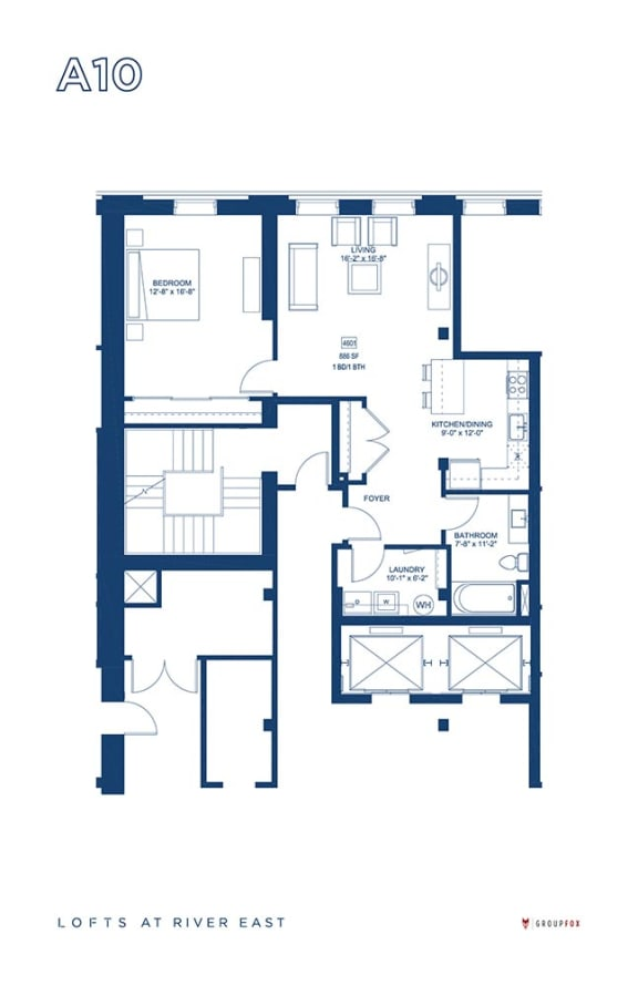 Lofts at River East - A10