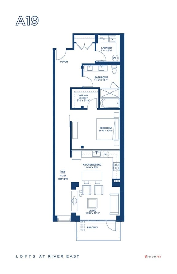 Lofts at River East - A19
