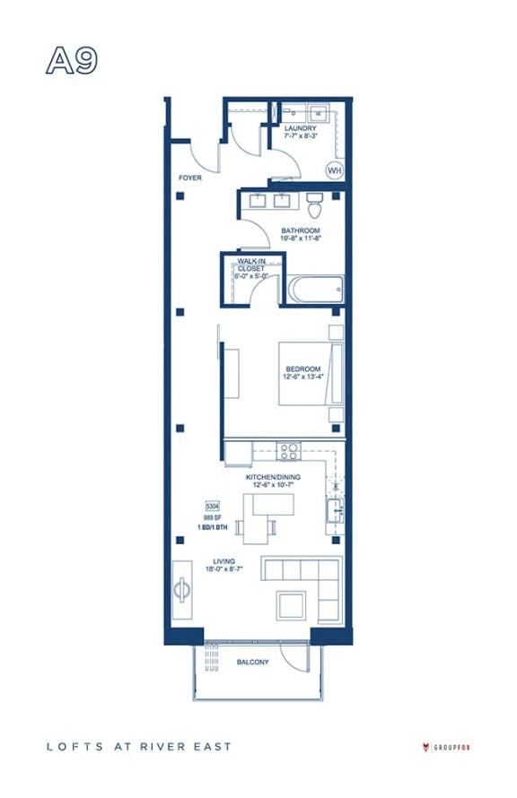 Lofts at River East - A9