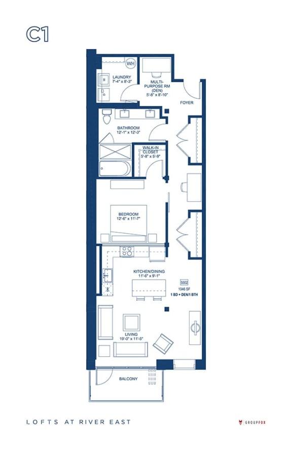 Lofts at River East - C1