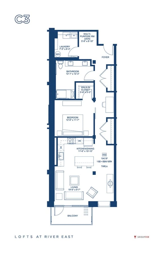 Lofts at River East - C3