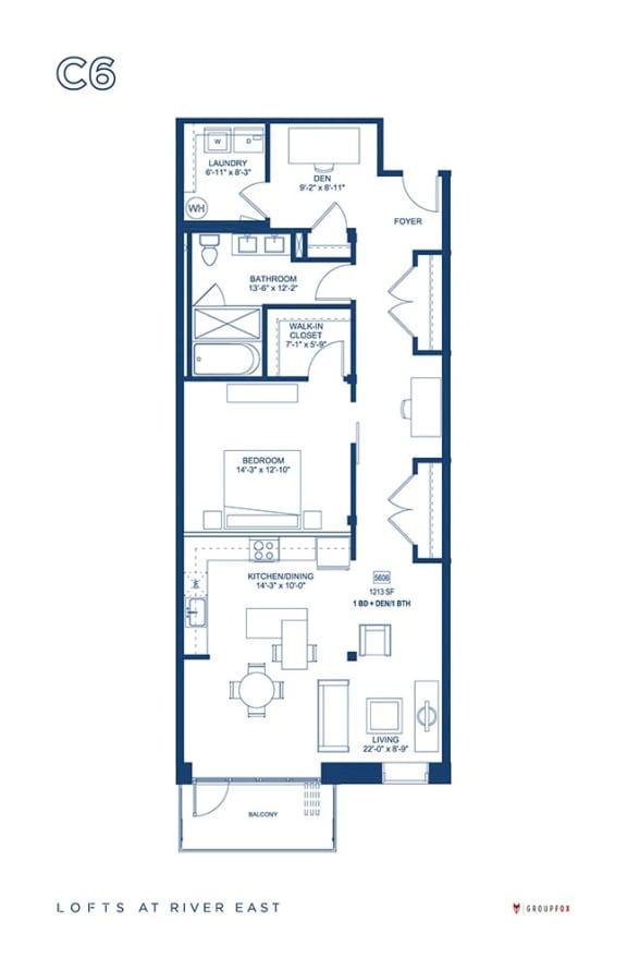 Lofts at River East - C6