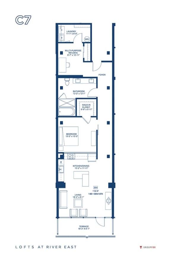 Lofts at River East - C7