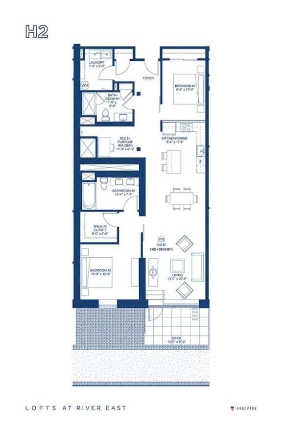 Lofts at River East - H2