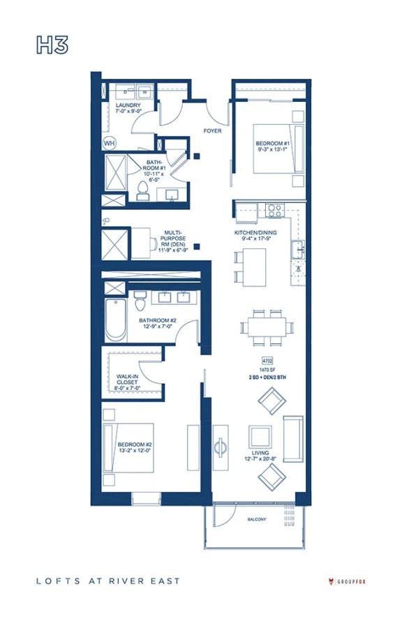 Lofts at River East - H3