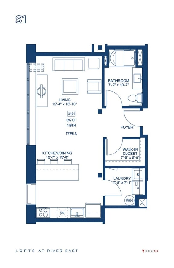 Lofts at River East - S1