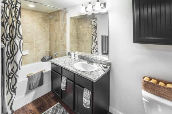 Bathroom with Soaking Tub | Avenues at Creekside Apartments