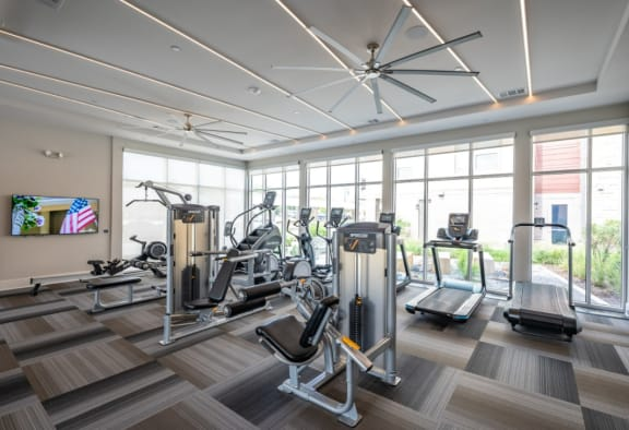 Fitness Center 26 at City Point Apartments