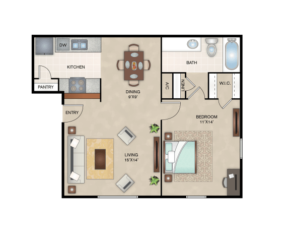 Floor Plan  Maple Floor Plan layout