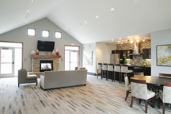 Newly Redesigned Clubhouse at Valley Creek Apartments , Minnesota, 55125