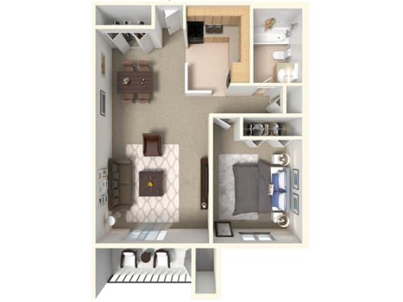 Floor Plan  Floor plan - Hampton in Highland