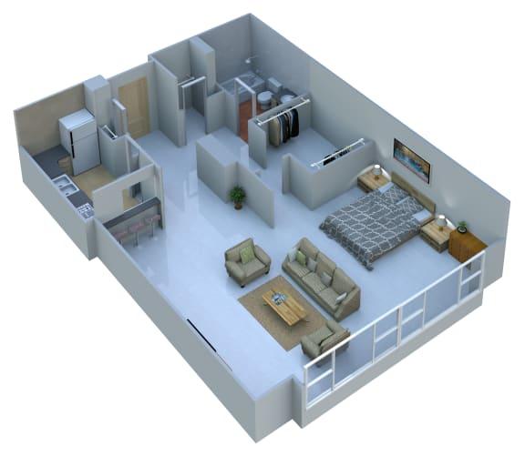 Floor Plan  Studio Unit