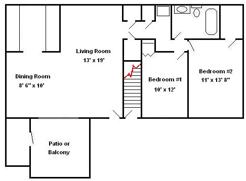2 Bedrooms Hershey Apartments | Braircrest Gardens Apartments