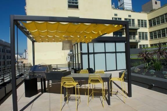 Broadway Lofts Rooftop Sun Deck