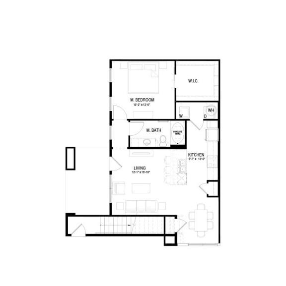 A4 Floor Plan at Hermosa Village, Leander, 78641