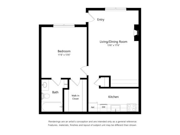 Floor Plan  a1 floor plan in austin tx apartments