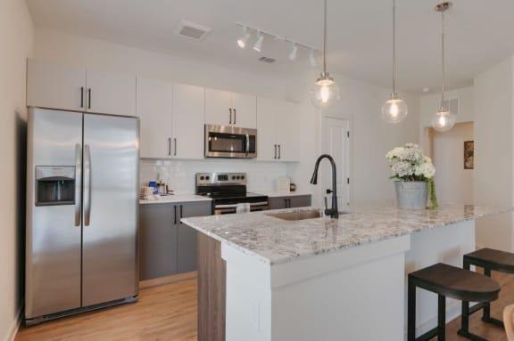 Kitchen at Hermosa Village Leander Texas