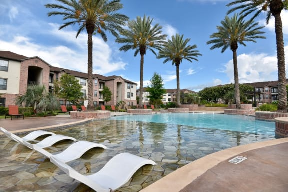 shadow creek apartments with a pool