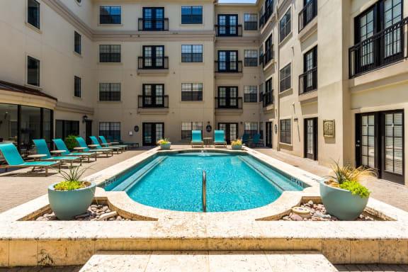 pool amenity in dallas texas apartments