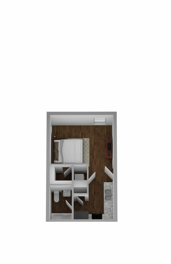 floor plan option  in our apartment in Hurst, TX