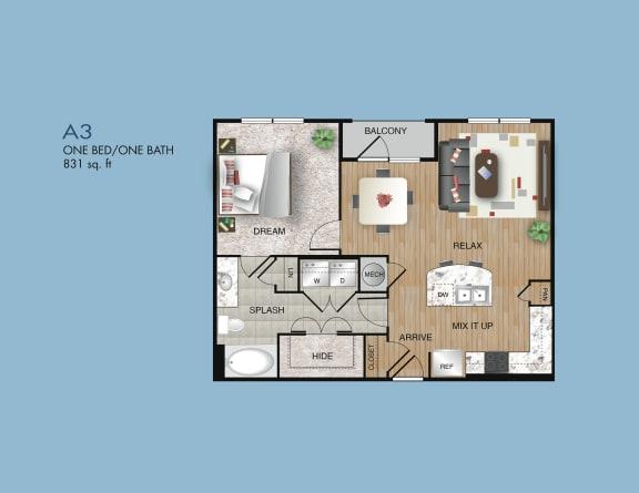 one bedroom apartments in memorial area