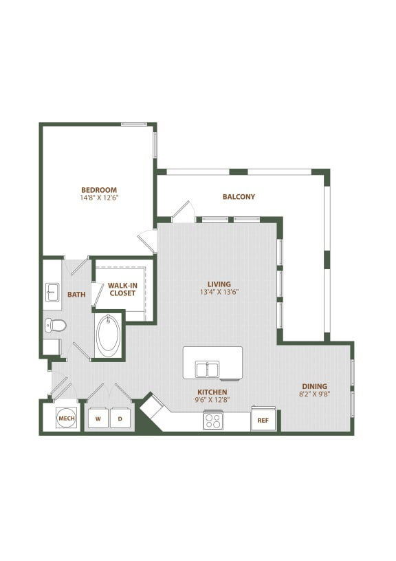 A5 Floor Plan at The Westerly, Florida