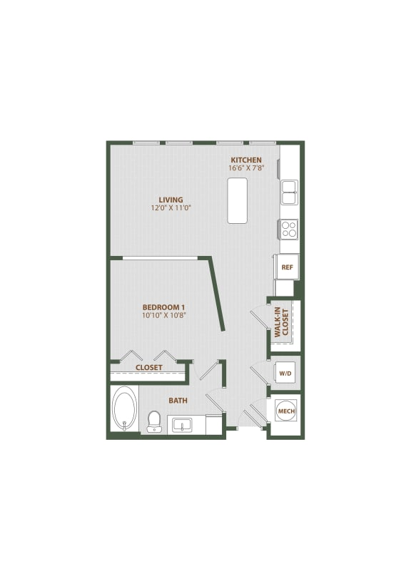 S1 Floor Plan at The Westerly, Florida, 34787