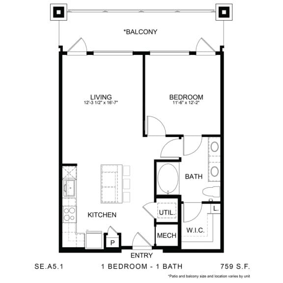 Floor Plan  SE.A5.1