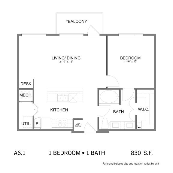 Floor Plan  SS.A6.1