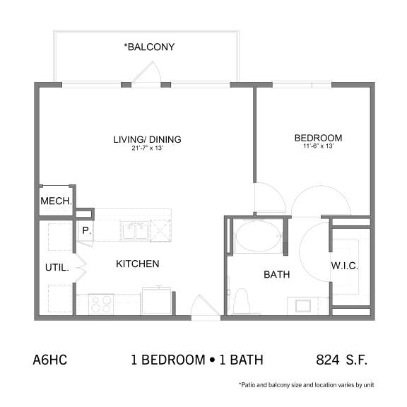 Floor Plan  SS.A6HC