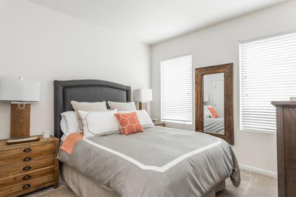 Designer Plush Carpeting in Bedrooms at 310 @ Nulu Apartments, Louisville, KY, 40202
