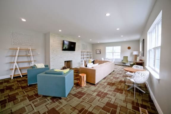 Clubhouse Lounge at Gramercy, Carmel, Indiana