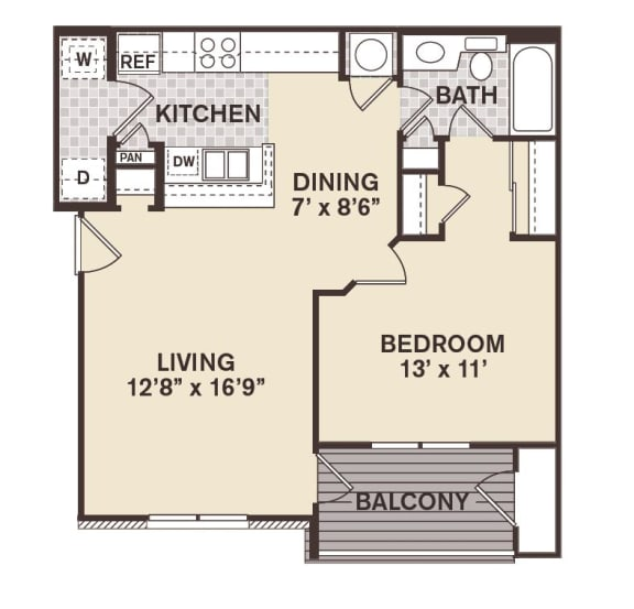 Beacon Hill Floor Plan at Providence at Old Meridian, Carmel, IN, 46032