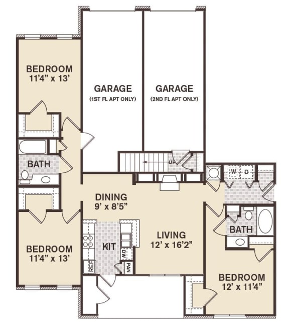 Central Park Floor Plan at Providence at Old Meridian, Carmel, IN, 46032