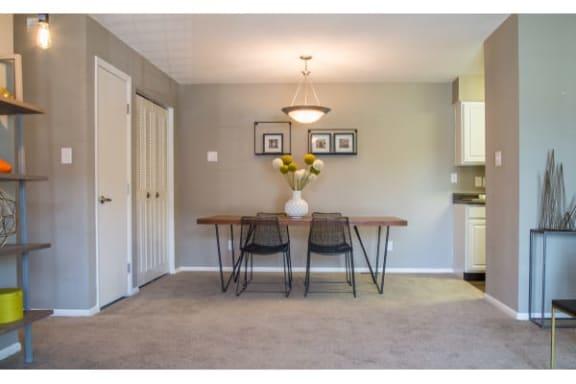Contemporary Dining Room at Gramercy, Carmel, 46032