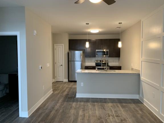 Musk Floor Plan with Kitchen Island Feature
