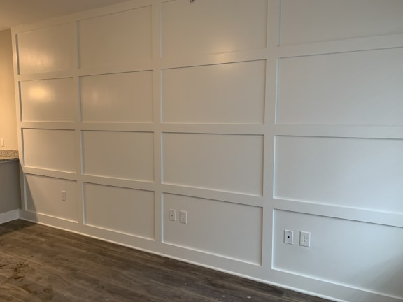 Musk Floor Plan Living Space with Accent Wall