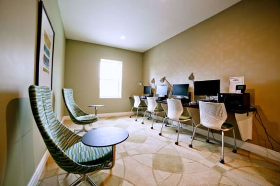 Business center private office at Gramercy, Carmel, 46032