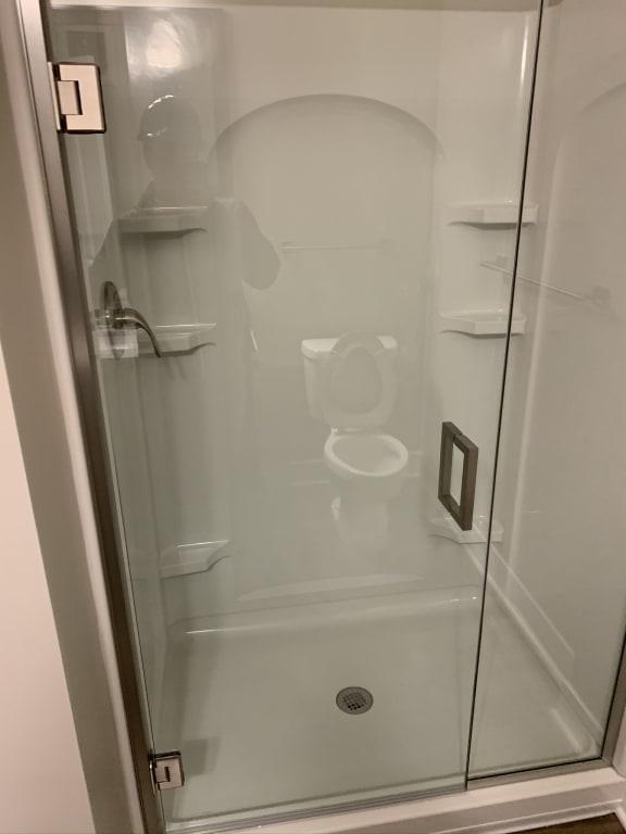 Porco Floor Plan Shower in Bathroom