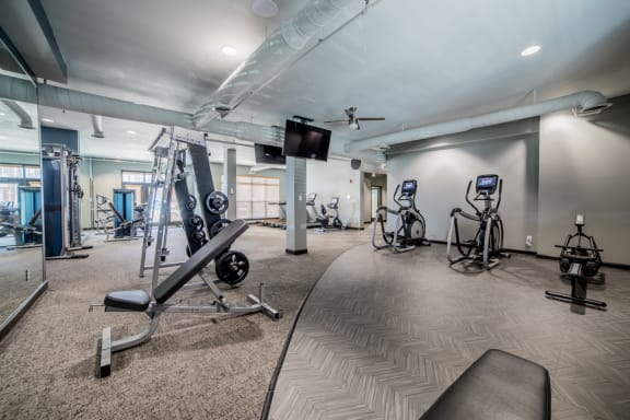 High-Tech Fitness Center at Providence at Old Meridian, Indiana