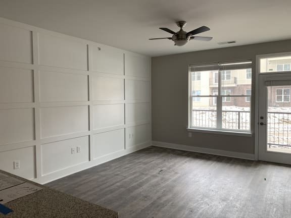 Seager Floor Plan Living Room Layout with Accent Wall